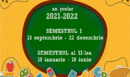 AN ȘCOLAR 2021-2022